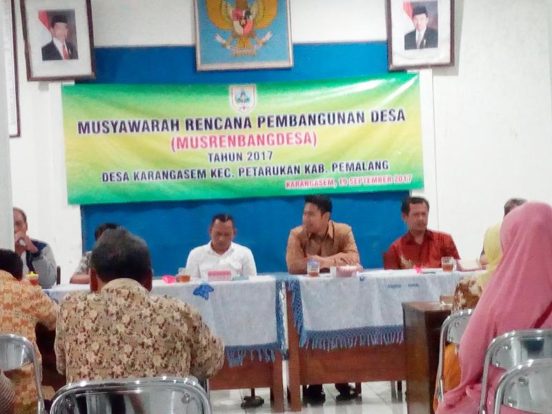 Musrenbangdesa Karangasem